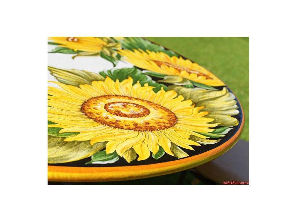 CeramicArte: Spello: стол обеденный круглый 100х100