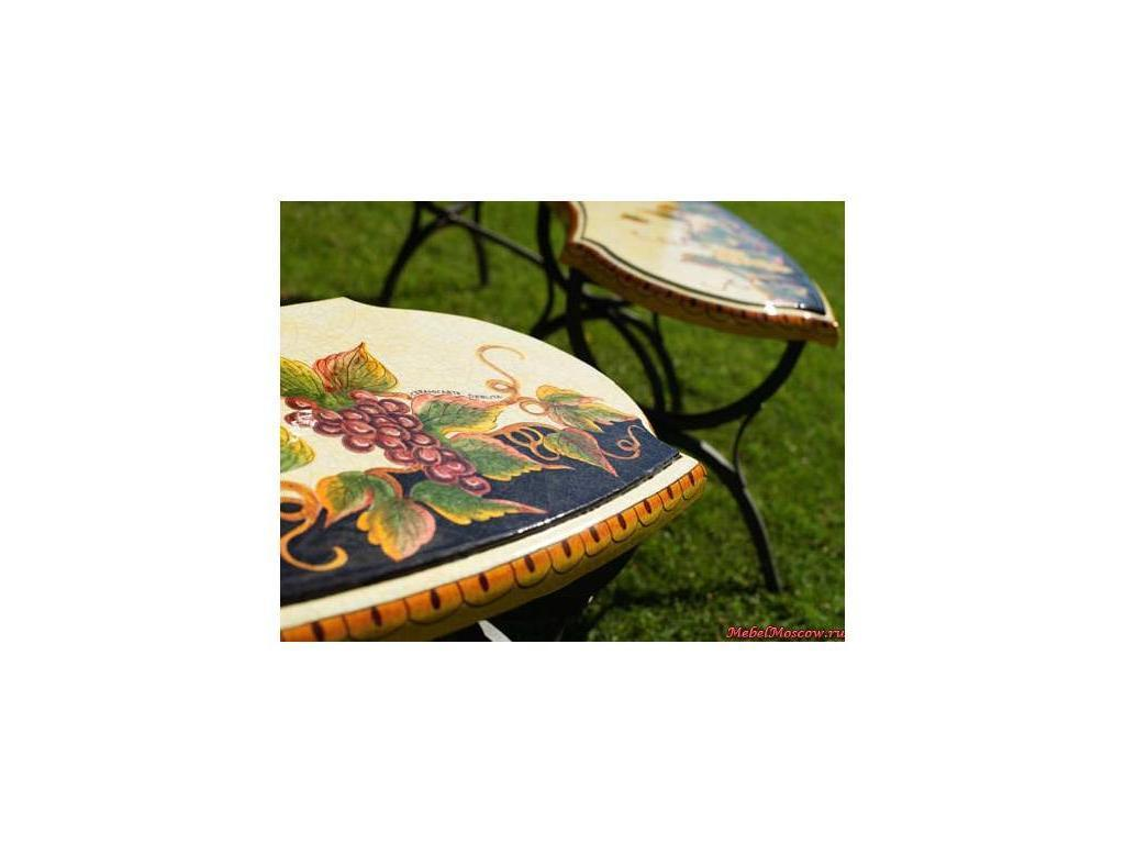 CeramicArte: Brindisi: стол обеденный круглый 110х110