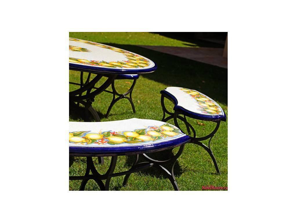 CeramicArte: Sorrento: стол обеденный круглый 100х100