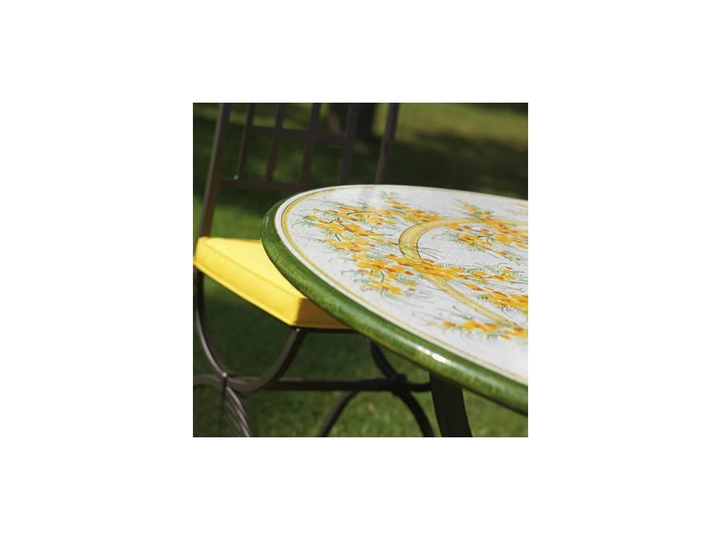 CeramicArte: Sanremo: стол обеденный круглый 100х100