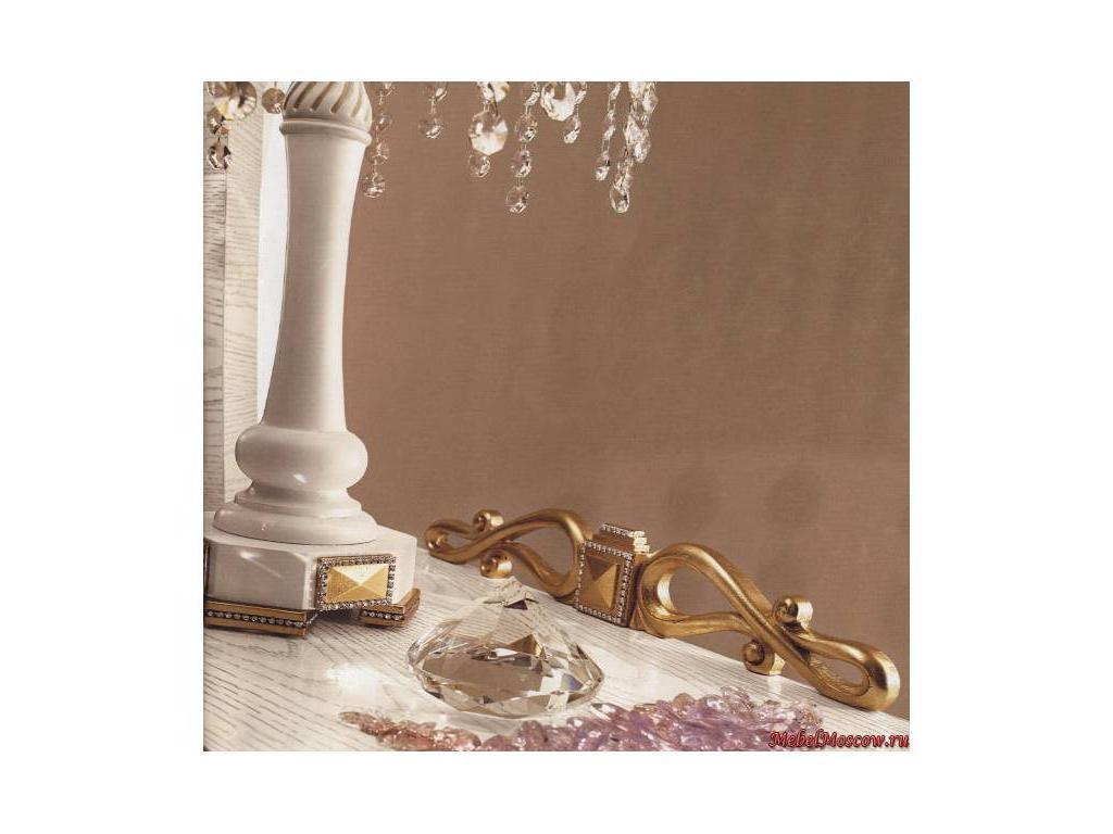 Gotha: Gold and Diamonds: лампа для тумбочки  (белый, золото)