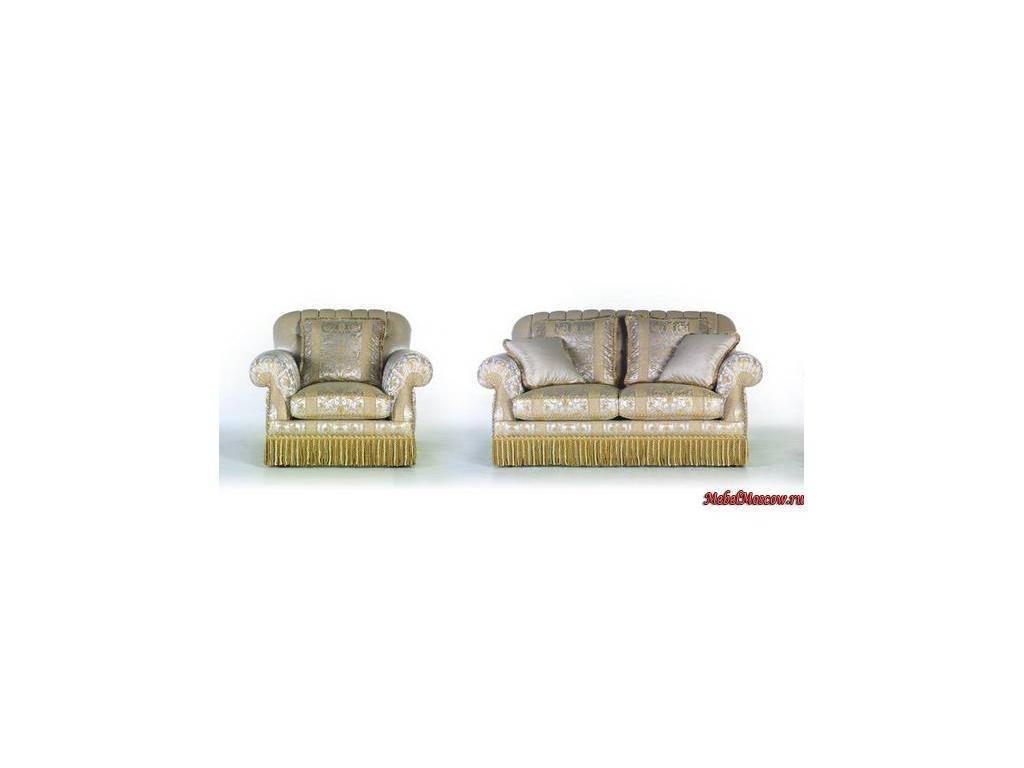 Zanaboni: Armonia 2: диван 2-х местный ткань кат.4
