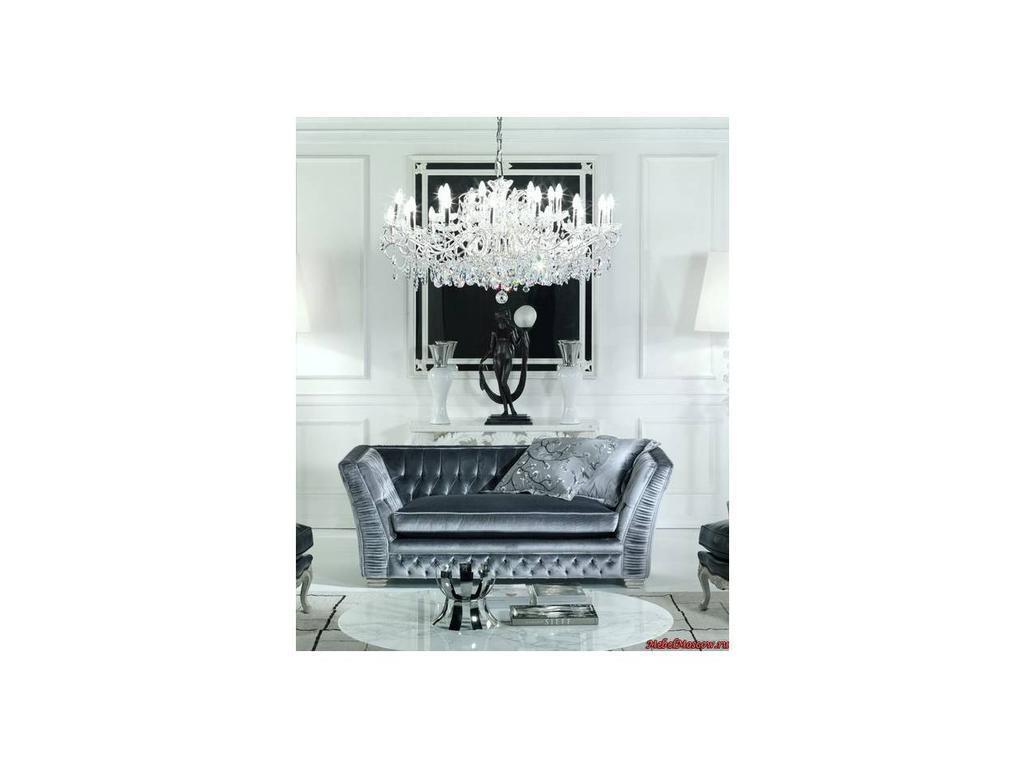 Zanaboni: Capri: диван 2-х местный ткань кат.5