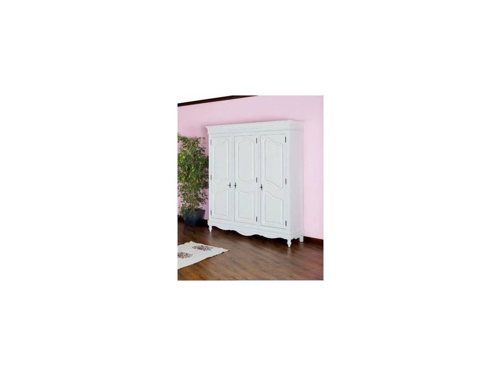 Mobex: Lavanda: шкаф 3-х дверный (белый)