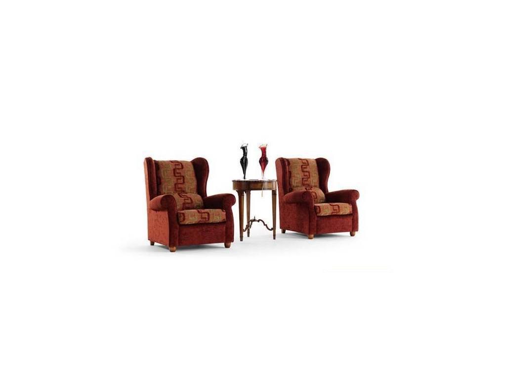 Tecni nova: Argento: кресло  (ткань Serie 4)