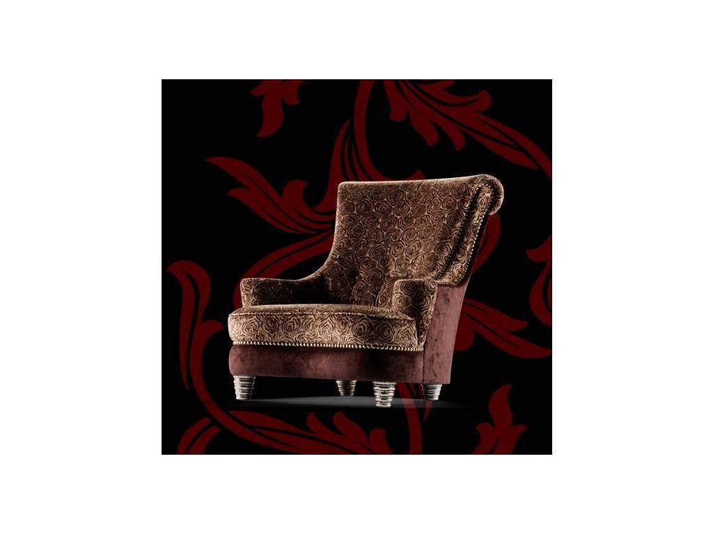 Tecni nova: Argento: кресло  (ткань Serie 9)