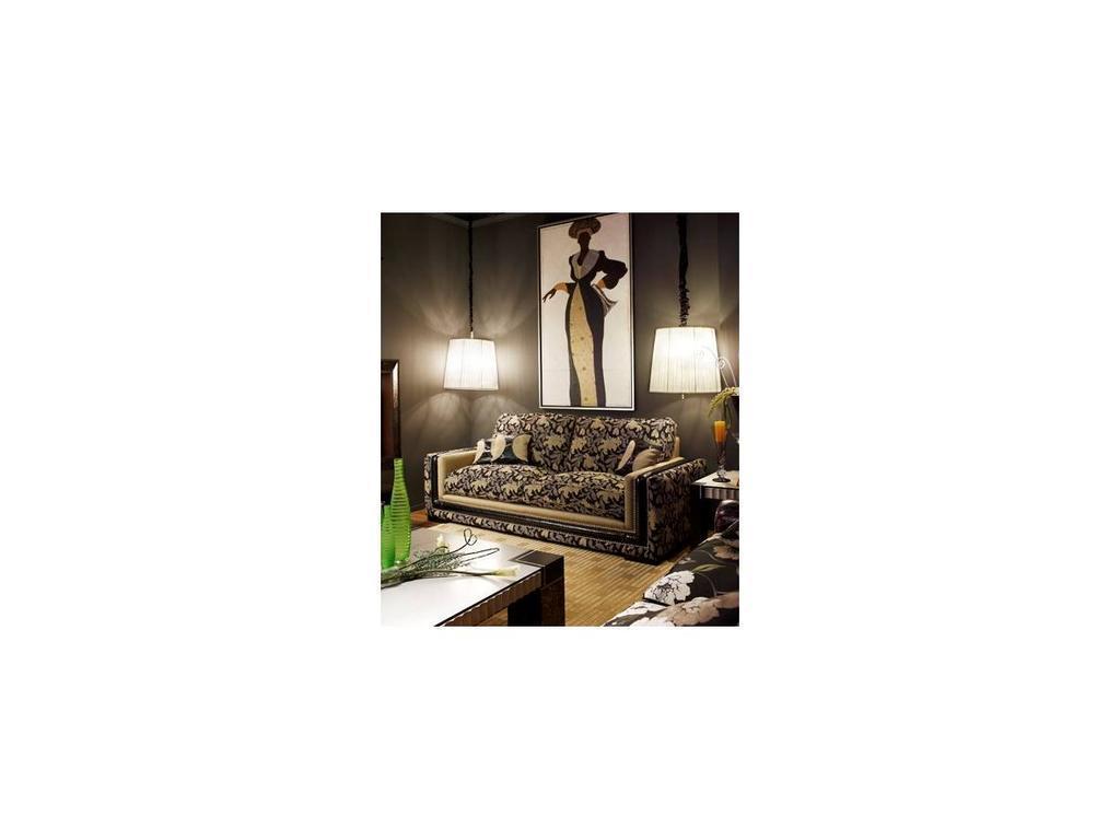 Tecni nova: Diamond: диван  (кожа Serie 17, ткань Serie 5)