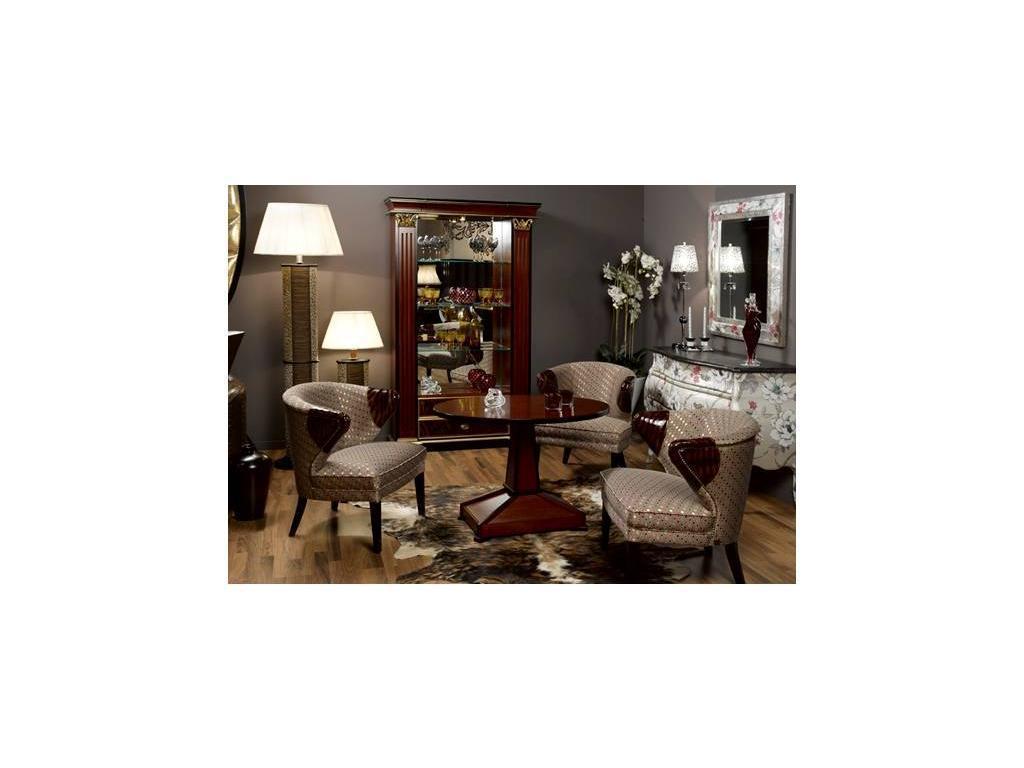 Tecni nova: Glamour: кресло, 4173-32 velador ovalado y 4143-16 libreria