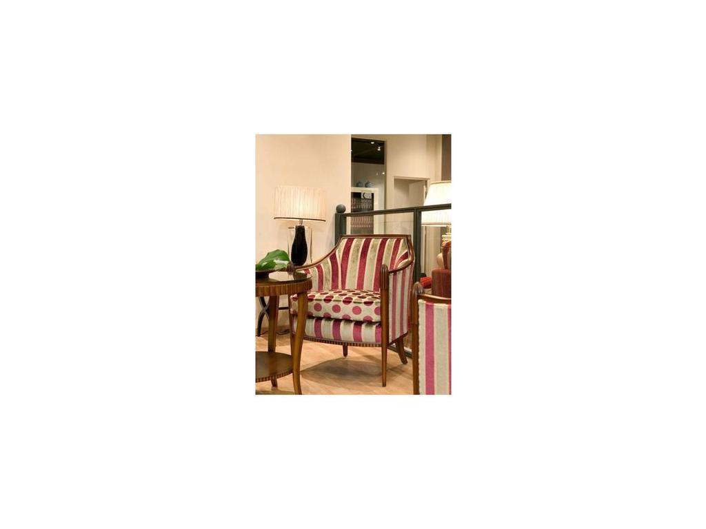 Tecni nova: Luxury: кресло ткань FV04