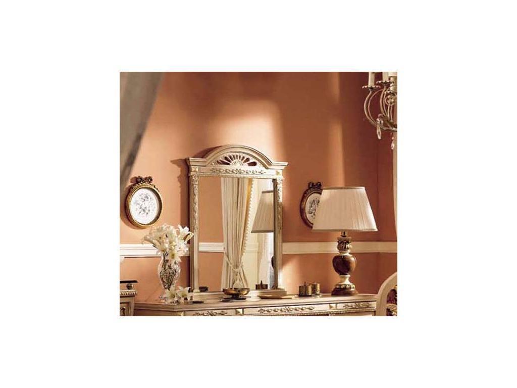 Techni Nova: зеркало (белый, золото)