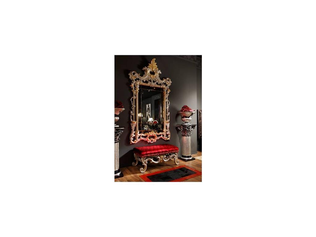 Tecni nova: Diamond: зеркало настенное  (серебро, золото)