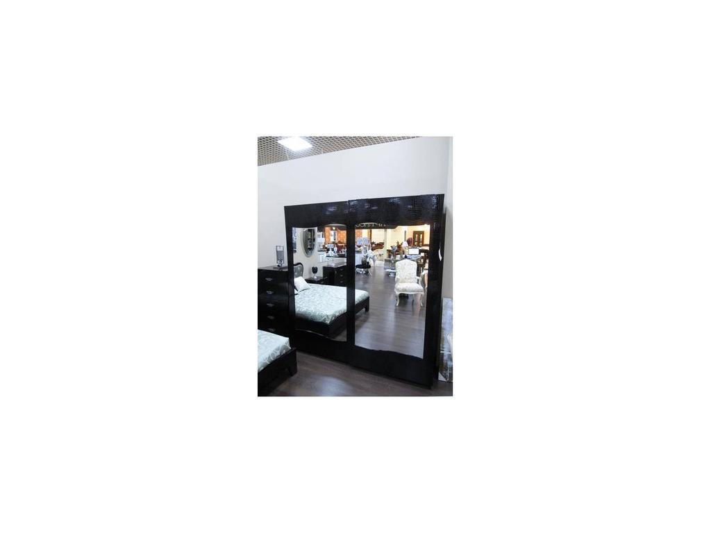 Fratelli Barri: Belluno: шкаф-купе 2 дв  (черный лак)