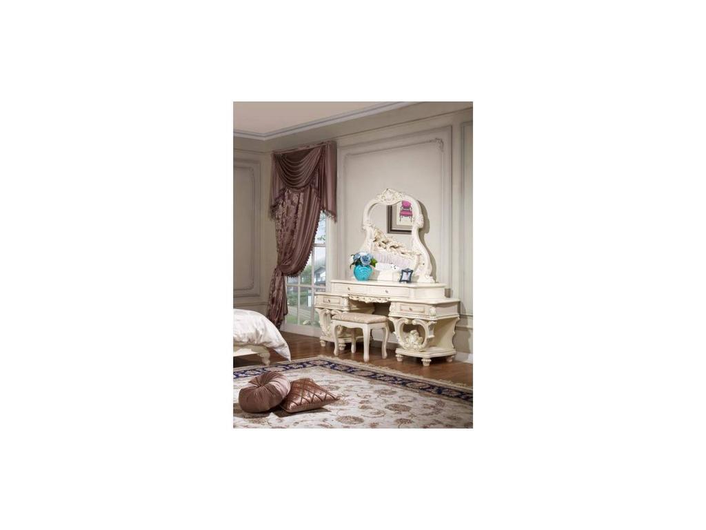 Fm: Офелия: стол туалетный с зеркалом (беж)