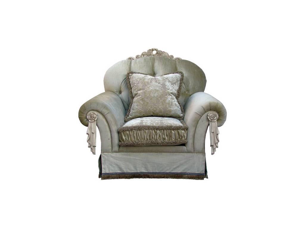 Vaoro: Dolce Rosa Дольче Роза: Жаклин: кресло  (слоновая кость)