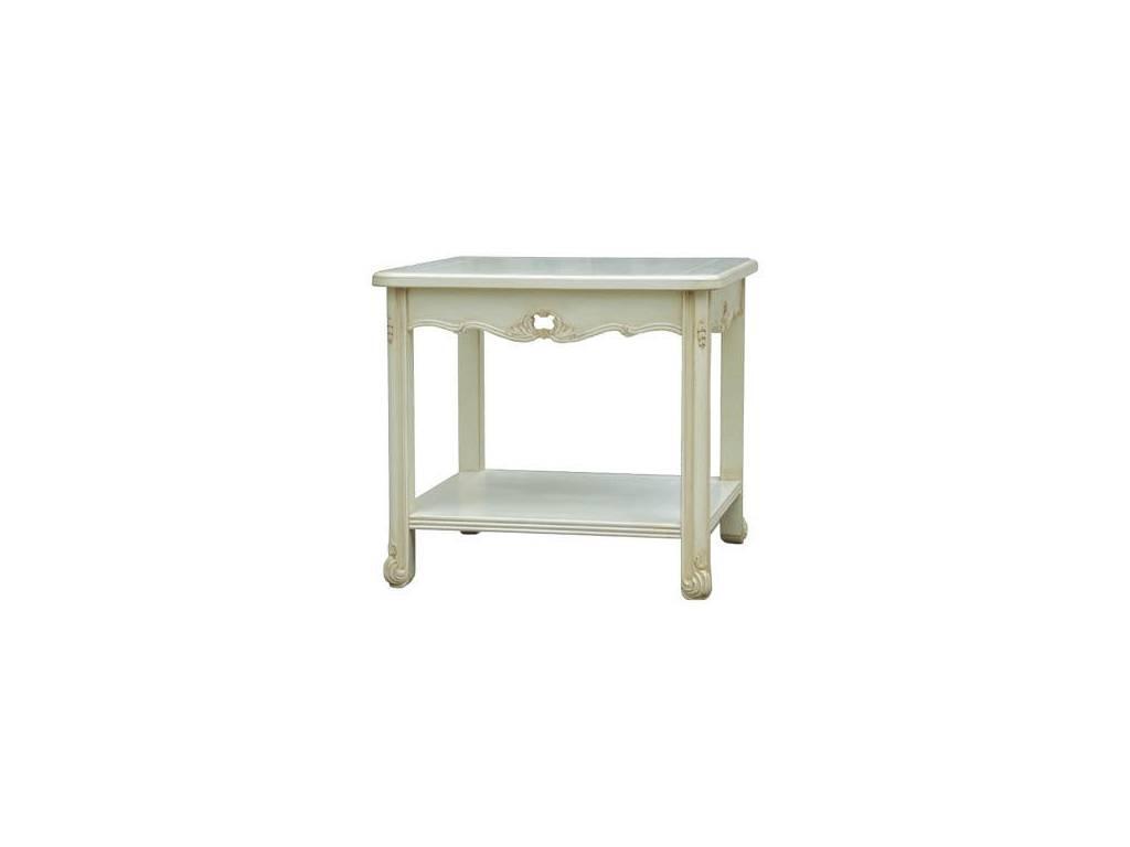 Vaoro: Dolce Rosa: стол кофейный  (слоновая кость)