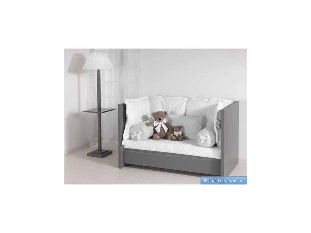 Marina Dal Santo: Arredo Sogno: кровать детская  (серый)