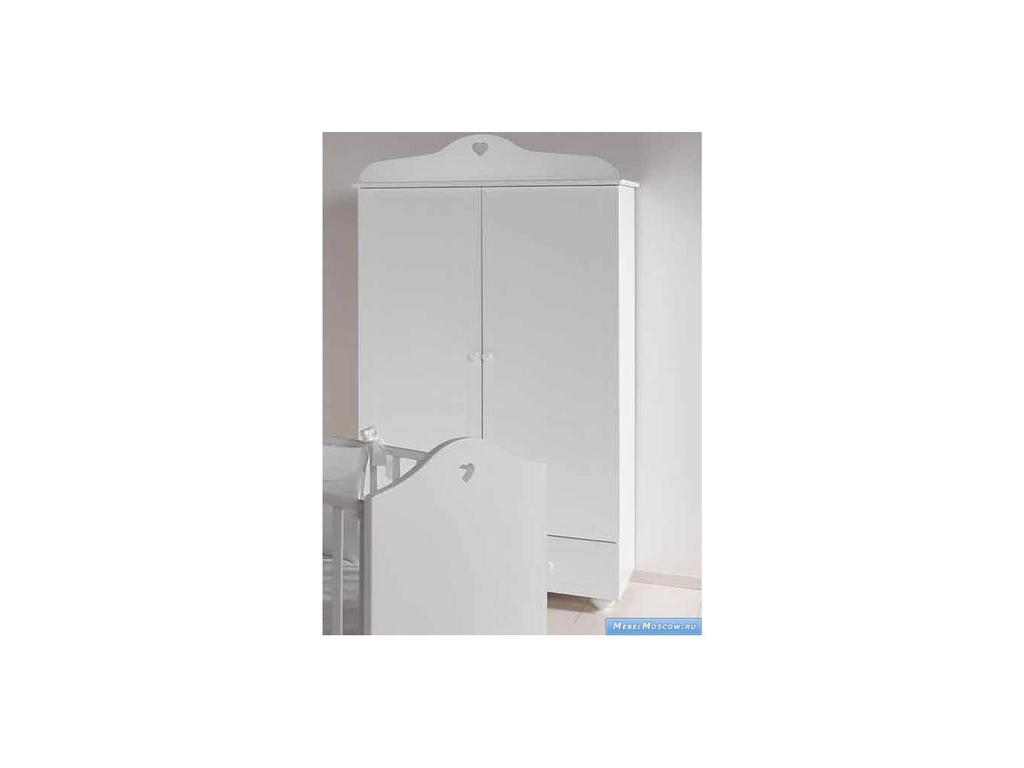 Marina Dal Santo: Arredo Cuore: шкаф двухдверный  (белый)