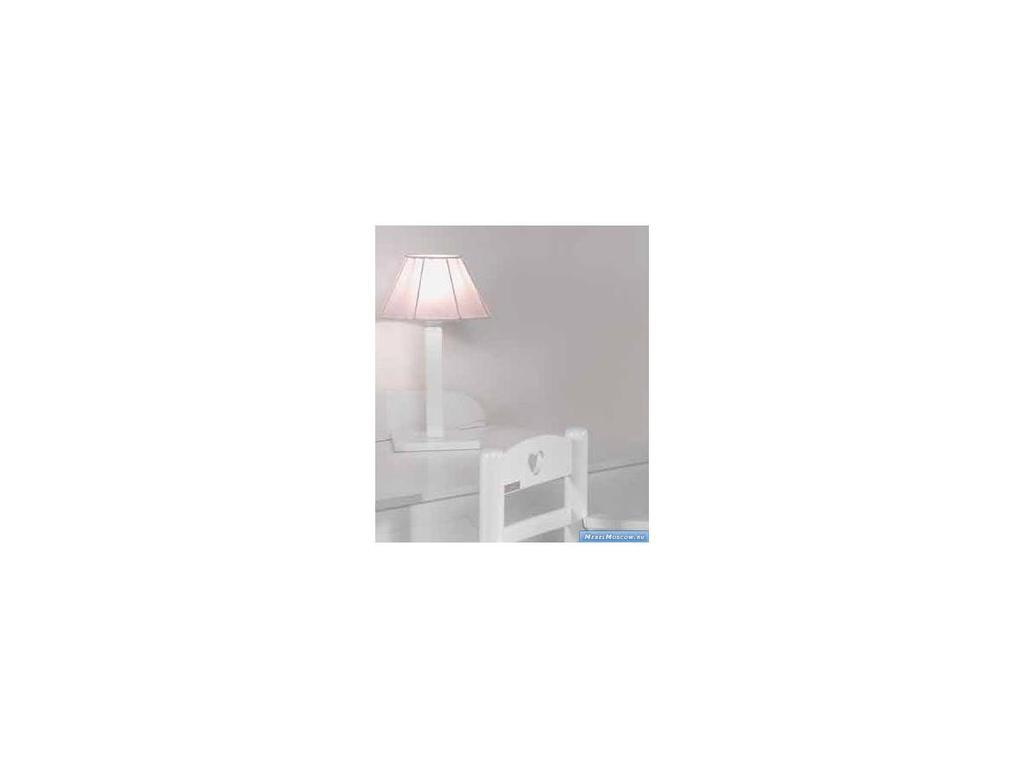 Marina Dal Santo: Arredo Cuore: лампа настольная  (белый, розовый)