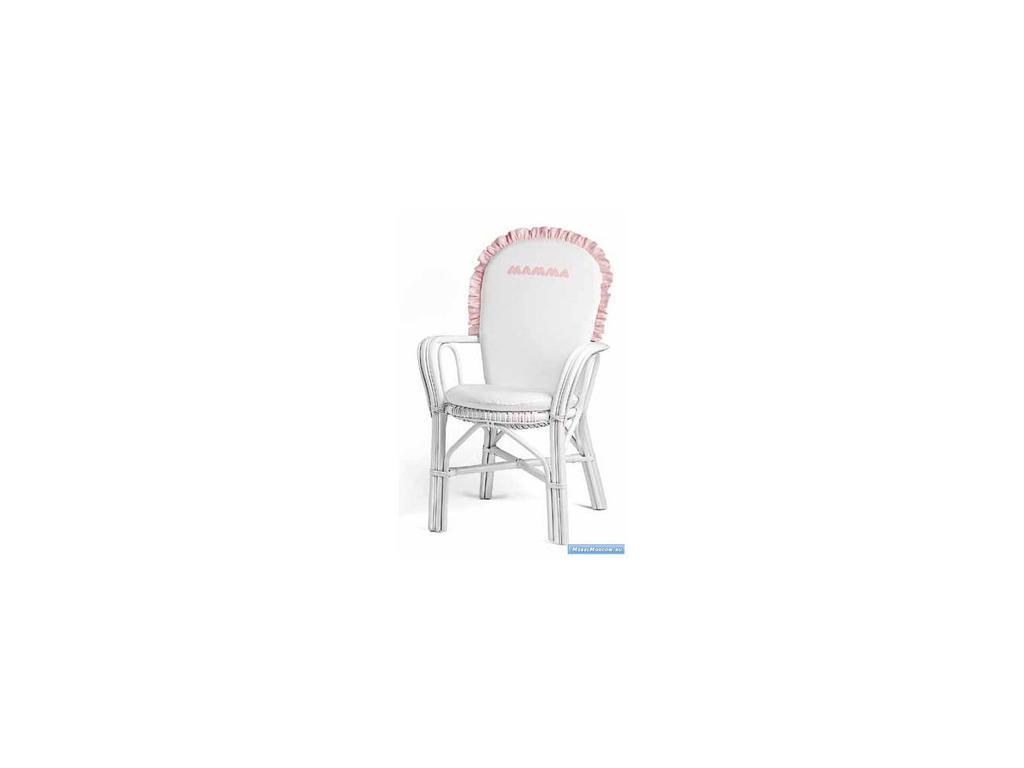 Marina Dal Santo: Arredo Favola: кресло  (белый, розовый)
