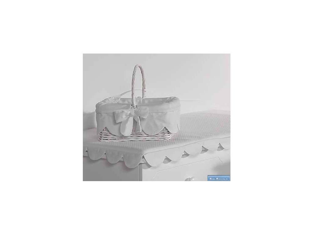 Marina Dal Santo: Bellini: корзина-переноска  (белый)