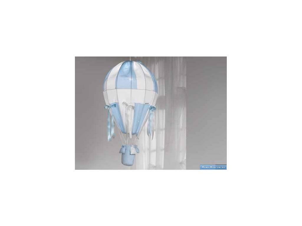 Marina Dal Santo: Bellini Azzurro: люстра потолочная  (белый, голубой)