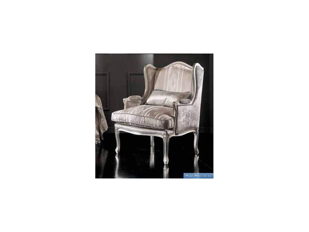 Keoma: Federica: кресло ткань кат. Super, серебро