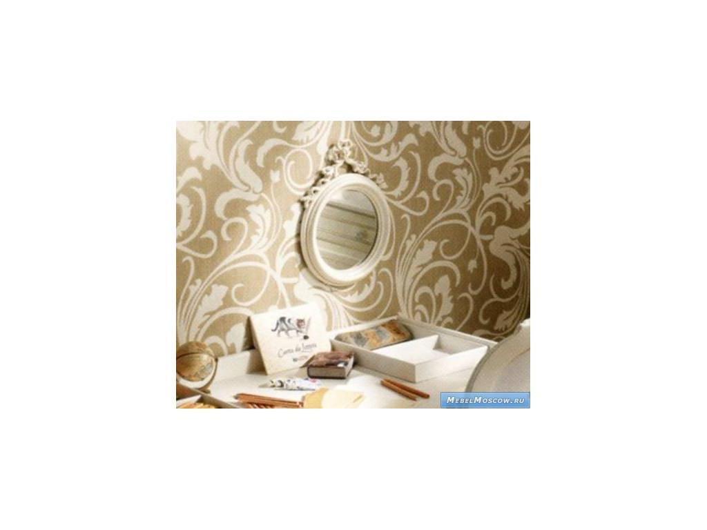 Frari: Fiocco Bebe: зеркало настенное  (слоновая кость с золотом)