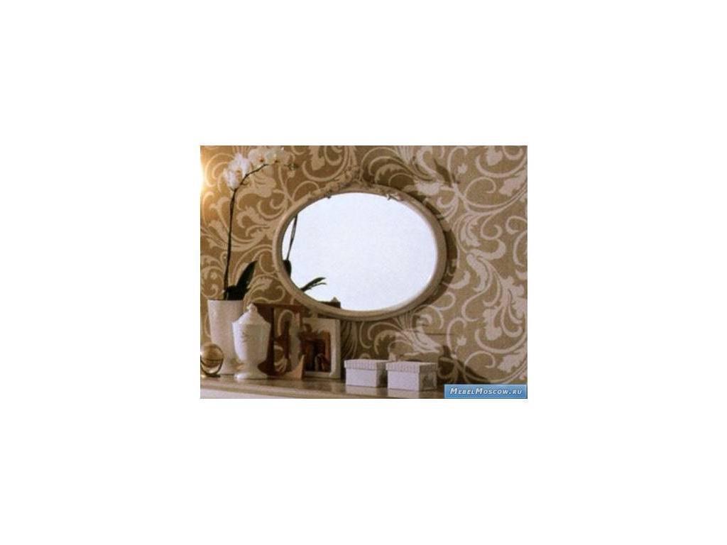 Frari: Fiocco: зеркало для комода  (слоновая кость, золото)