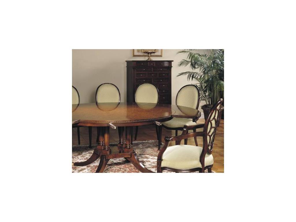 Francesco Molon: Сentury Collection: стол обеденный раскладной  (орех)