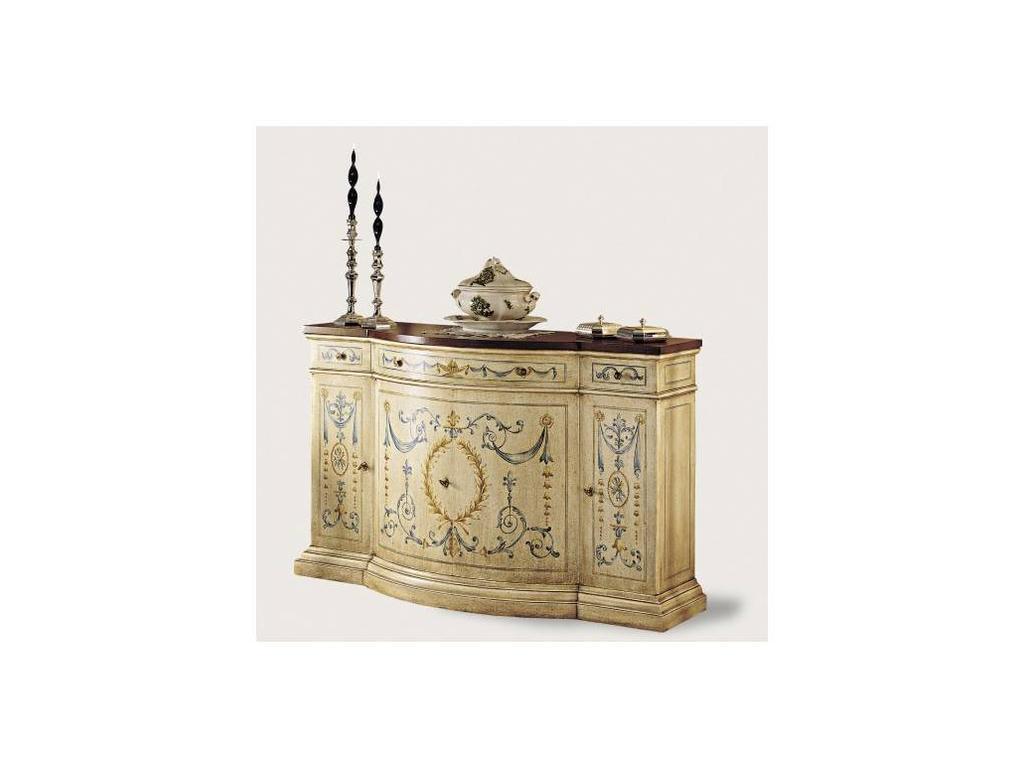 Francesco Molon: Сentury Collection: прилавок 4 дверный  (слоновая кость)