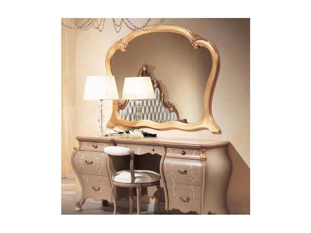 Tarocco Vaccari: Paradise: зеркало для туалетного стола  (laccato, oro)