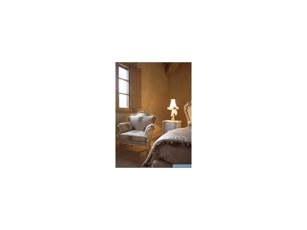 Volpi: Notti: кресло Diletta  дерево class 4. ткань cat.B