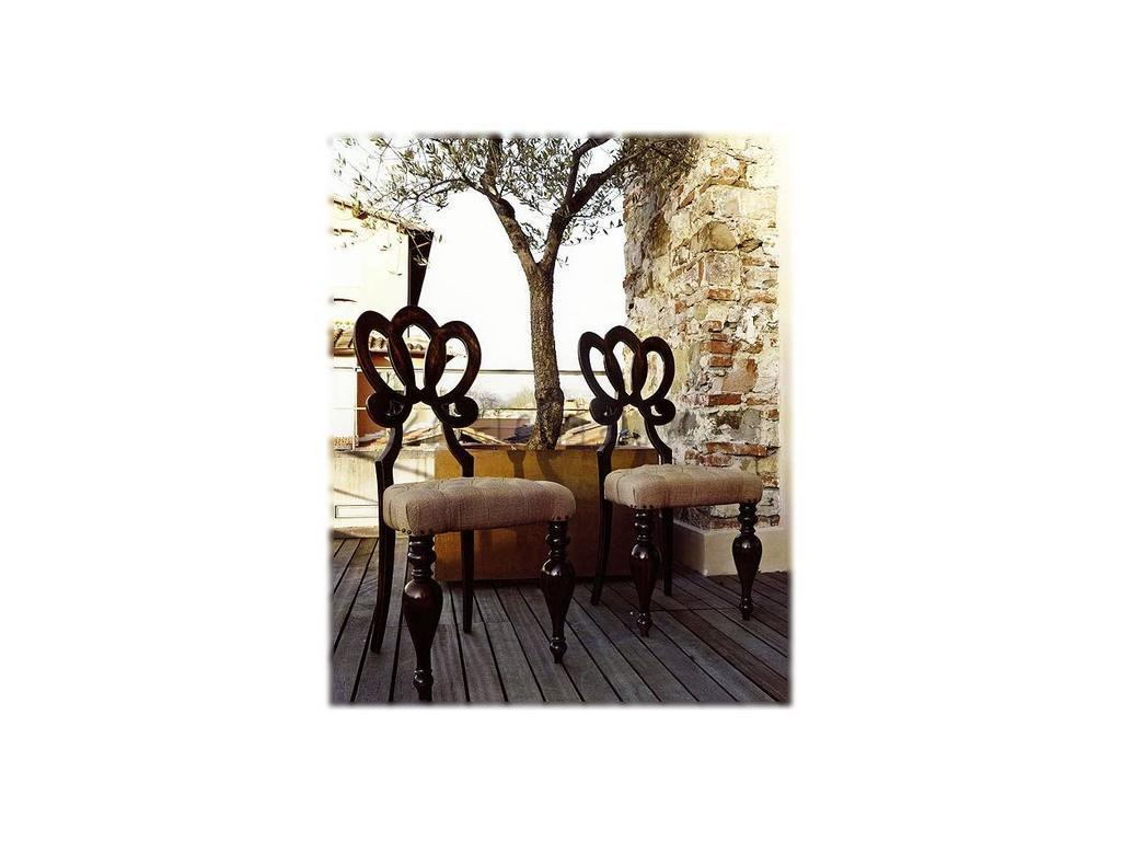 Volpi: Giorno: стул Capri  дерево class 4 ткань cat. B