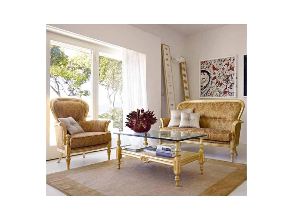 Volpi: Giorno: кресло Paolina  дерево class 4. ткань cat.B