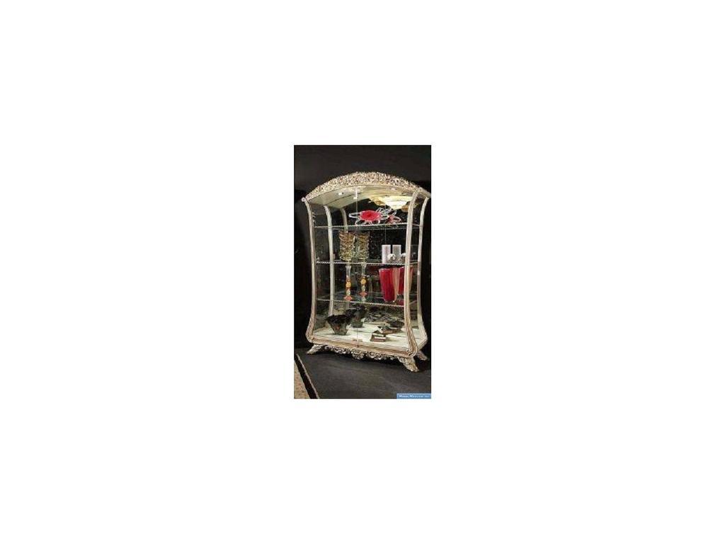 Vidal Gold: Versailles: витрина двухдверная (серебро)