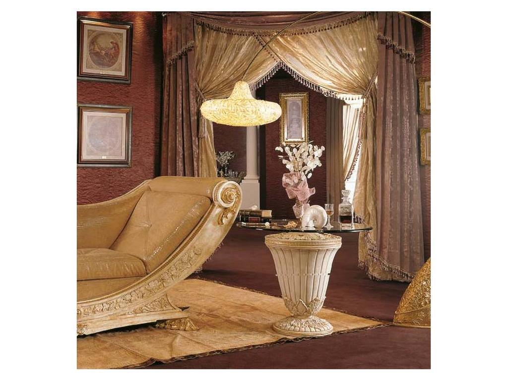 Vidal Gold: Grecia: стол журнальный (слоновая кость)