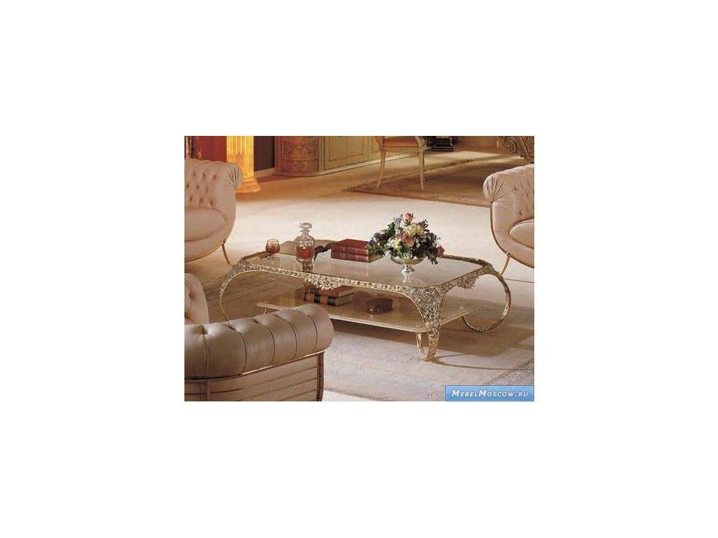 Vidal Gold: Delta: стол журнальный (серебряный)