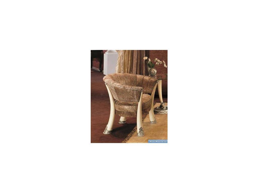 Vidal Gold: Kenya: полукресло (слоновая кость, коричневый)