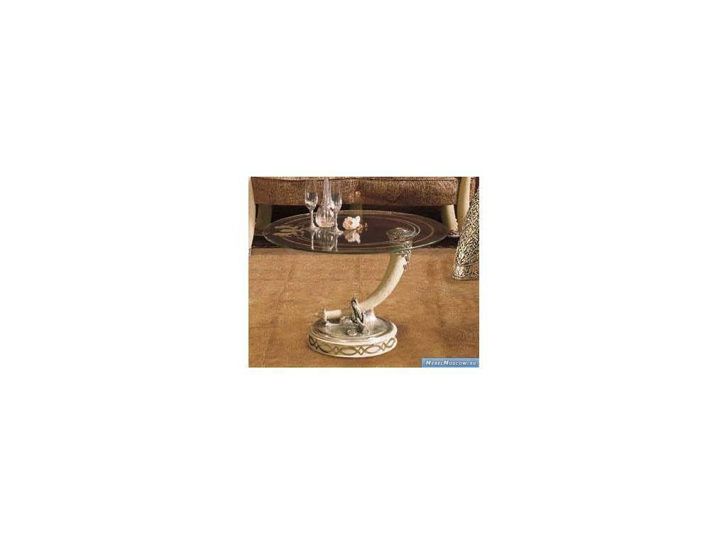 Vidal Gold: Kenya: стол журнальный (слоновая кость)