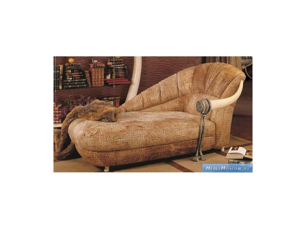 Vidal Gold: Kenya: оттоманка (слоновая кость, коричневый)