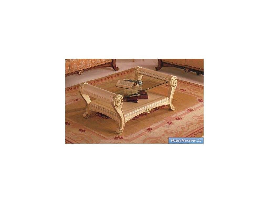 Vidal Gold: Tabarca: стол журнальный (слоновая кость)