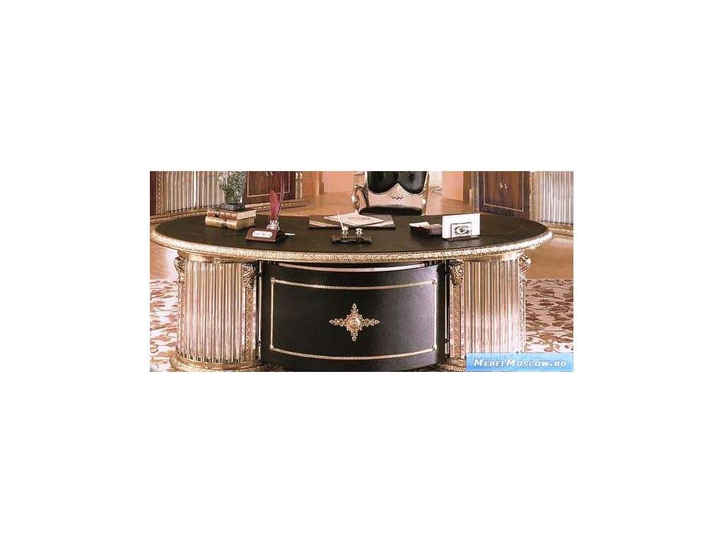 Vidal Gold: President: стол письменный (черный)