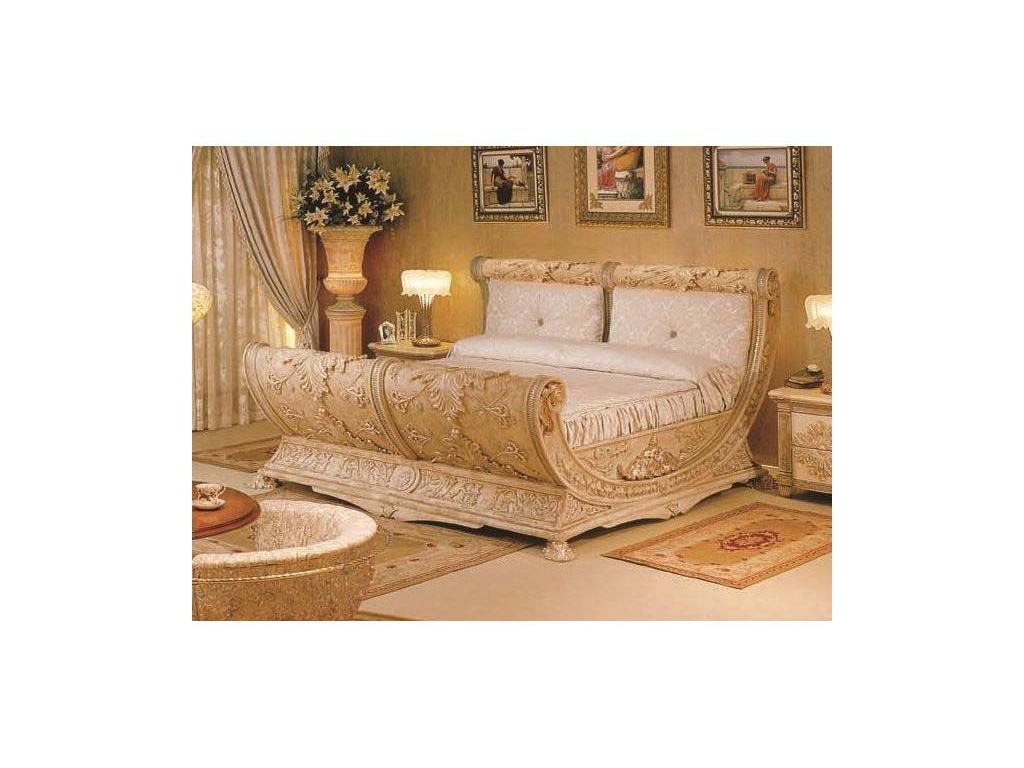 Vidal Gold: Grecia: кровать 200х200 (слоновая кость)