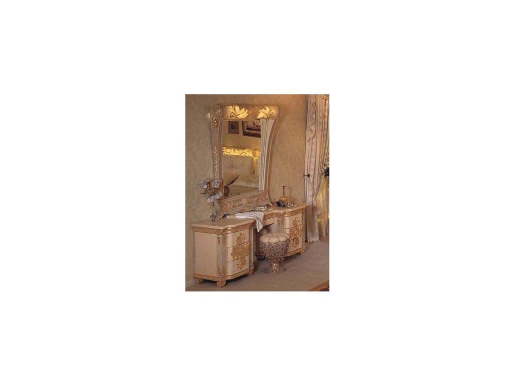 Vidal Gold: Grecia: стол туалетный (слоновая кость)
