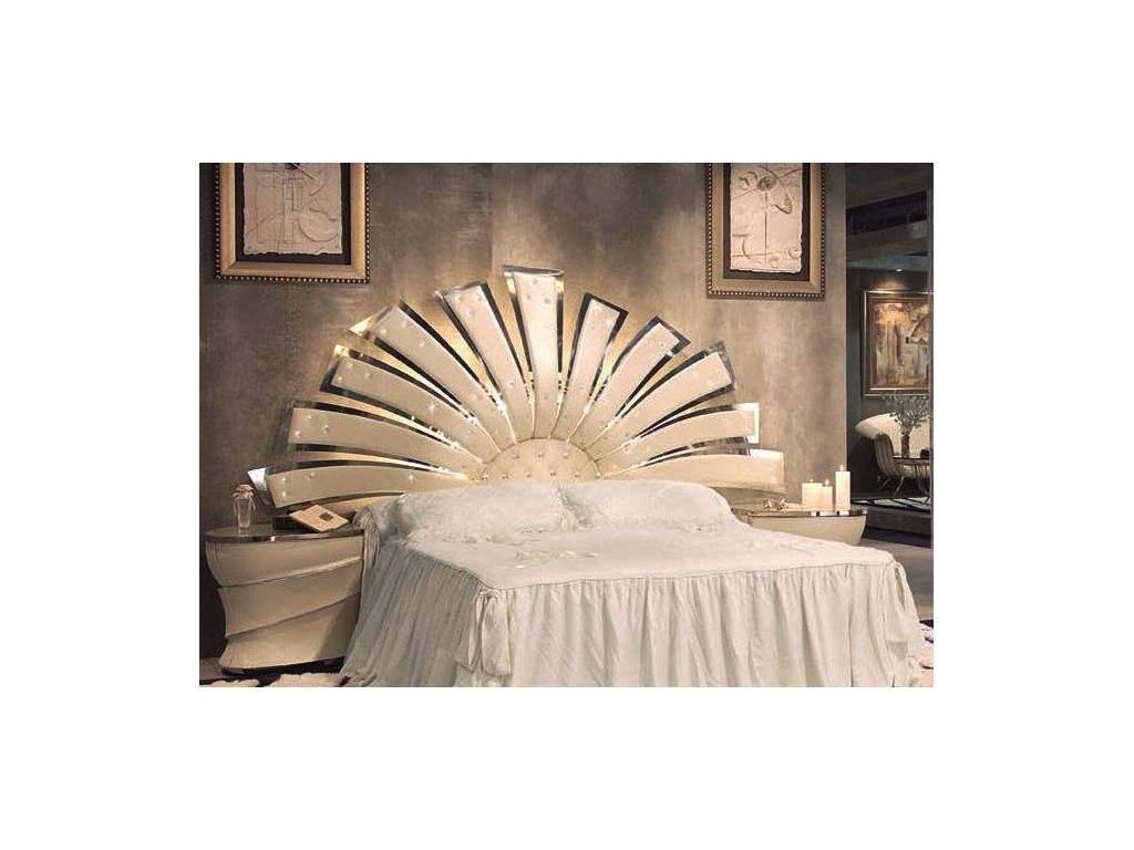 Vidal Gold: Boreal: изголовье для кровати 150х200 (слоновая кость)