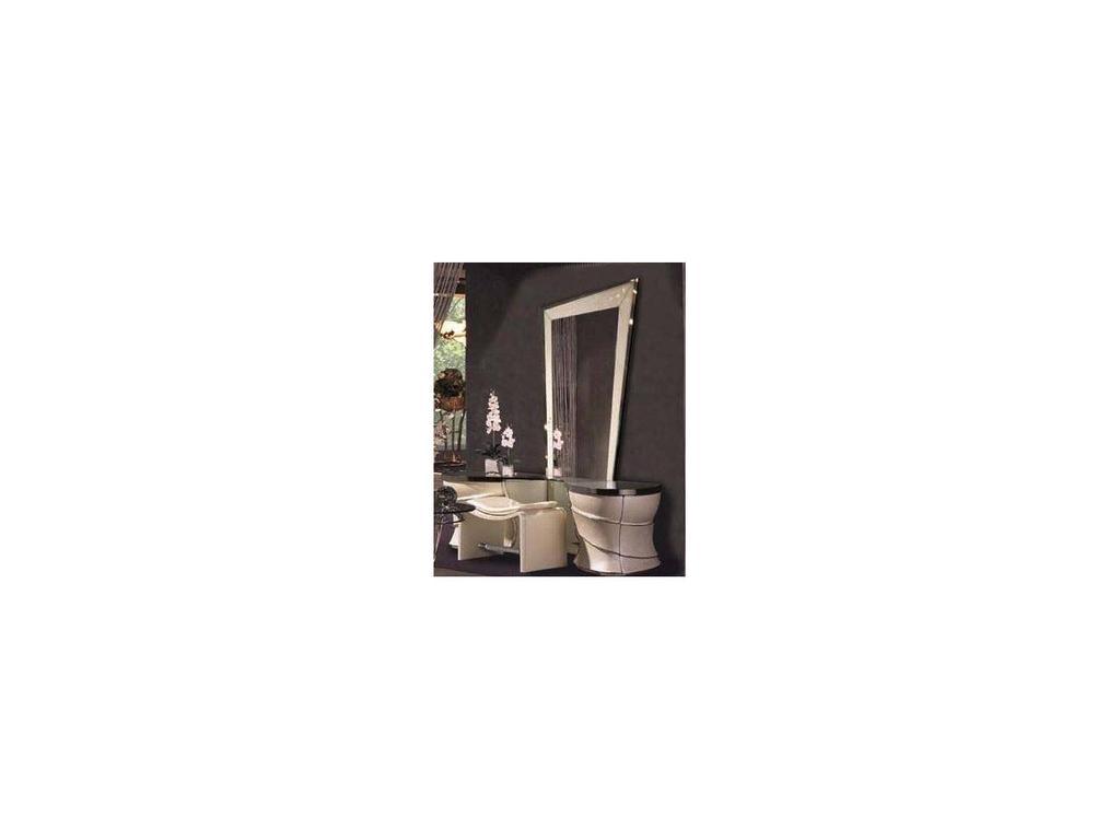 Vidal Gold: Boreal: стол туалетный с зеркалом (слоновая кость)