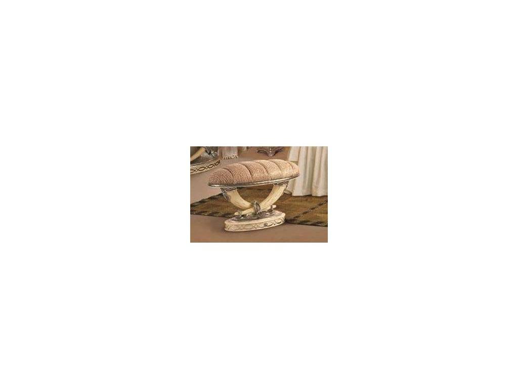 Vidal Gold: Kenya: банкетка (слоновая кость)