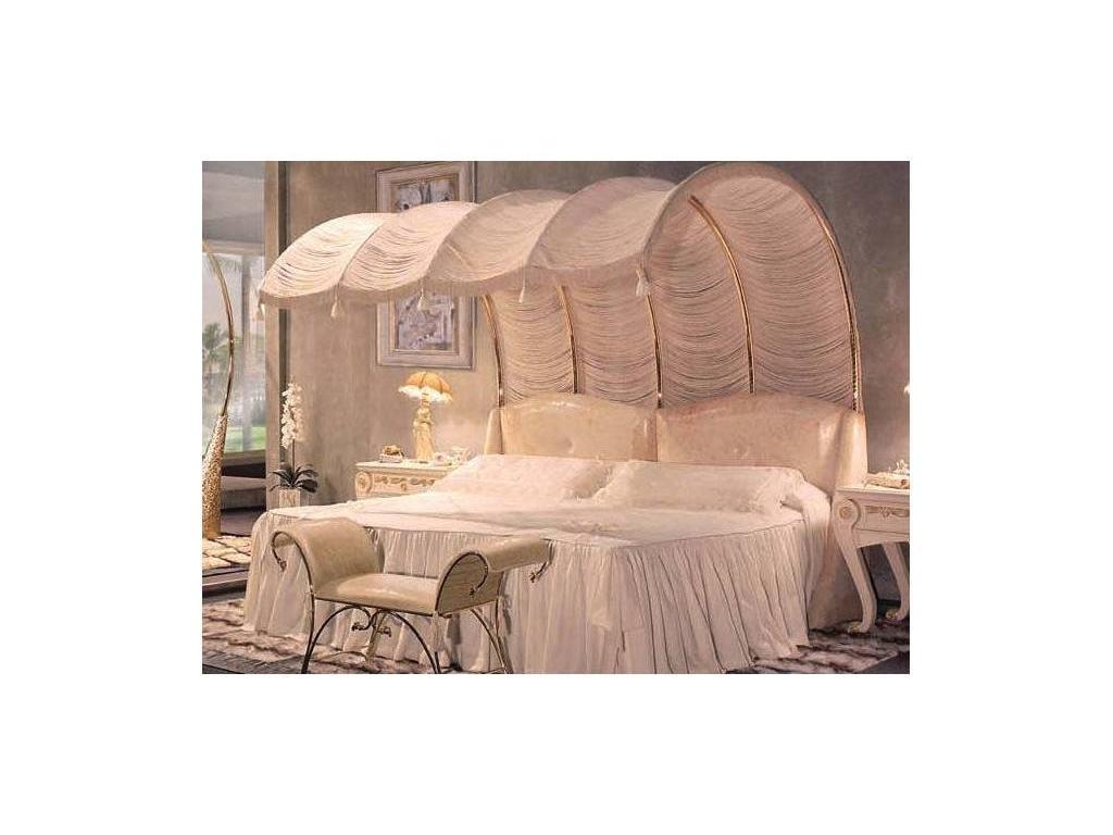Vidal Gold: Romantic: изголовье кровати (слоновая кость)