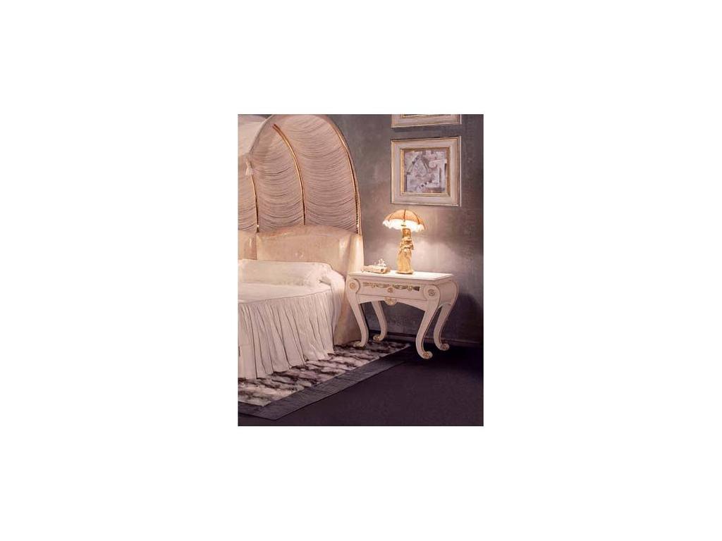 Vidal Gold: Romantic: тумба прикроватная (слоновая кость)