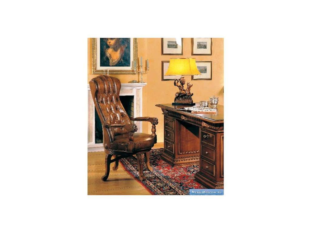 Mobil Deri: Firenze Collection: кресло посетителя кожа (noce)